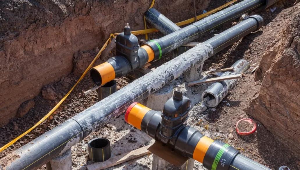 Глубина прокладки газопровода