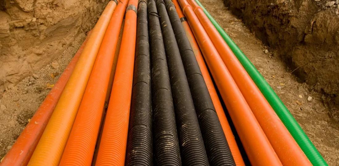 Пересечение коммуникаций газопроводов