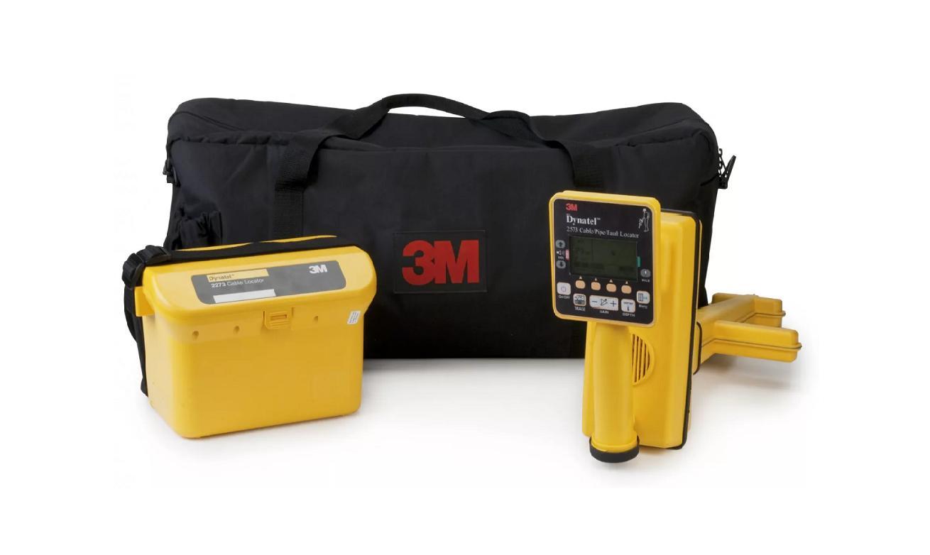 Dynatel 2573E-CU12 трассо- повреждения- искатель, 6 активных и 4 польз. частоты, 12Вт, новый интерфейс