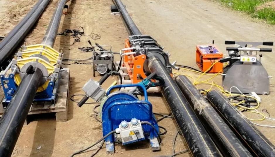 Описание традиционных методов обозначения трасс ПЭ газопроводов