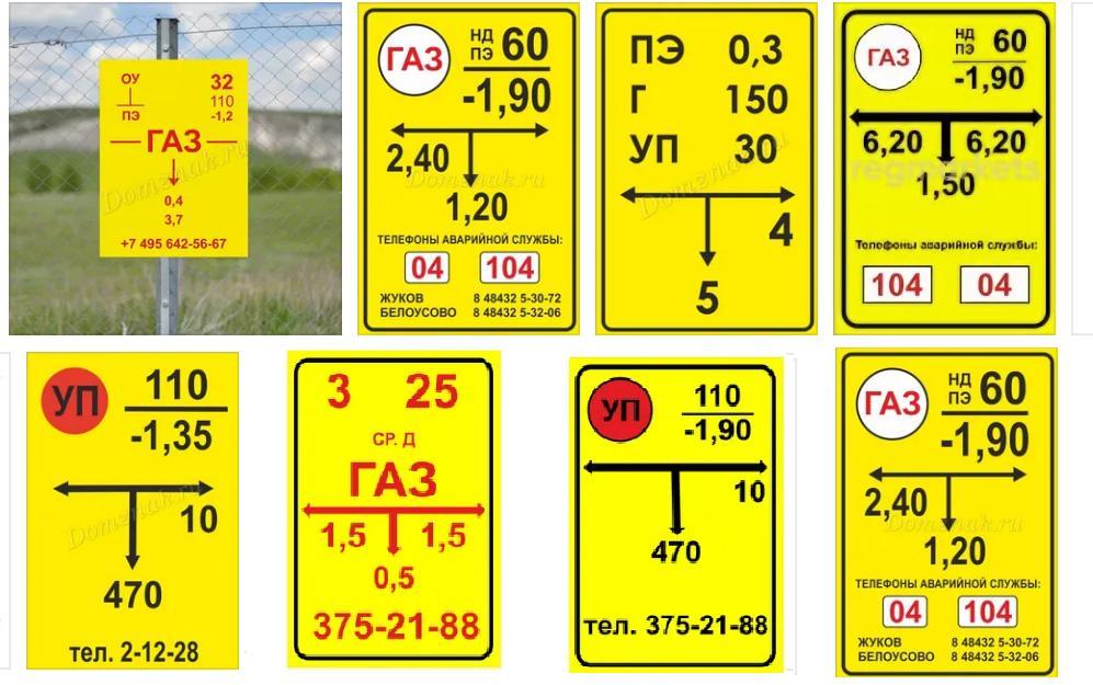 Традиционные методы маркировки полиэтиленовых газопроводов