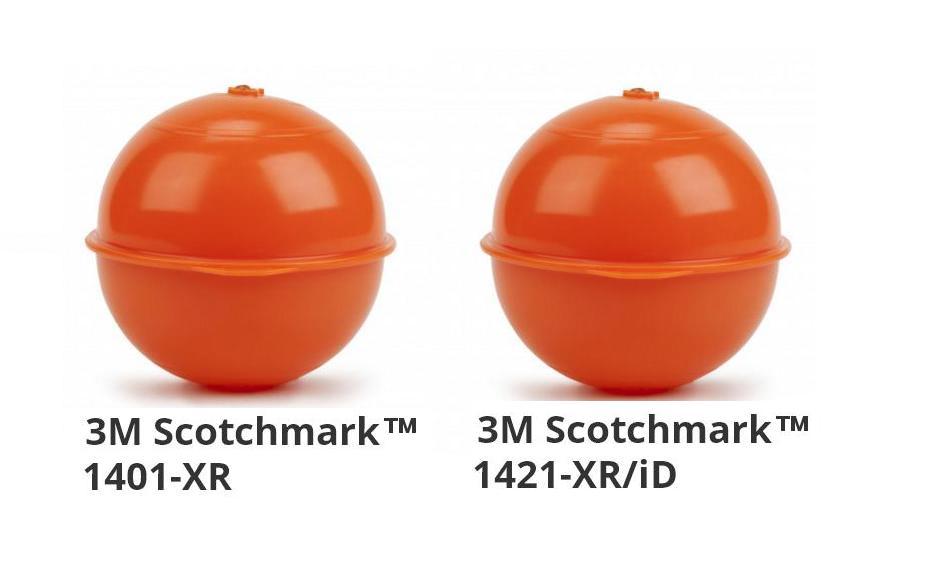 Электронные шаровые маркеры 3M Scotchmark для линий связи