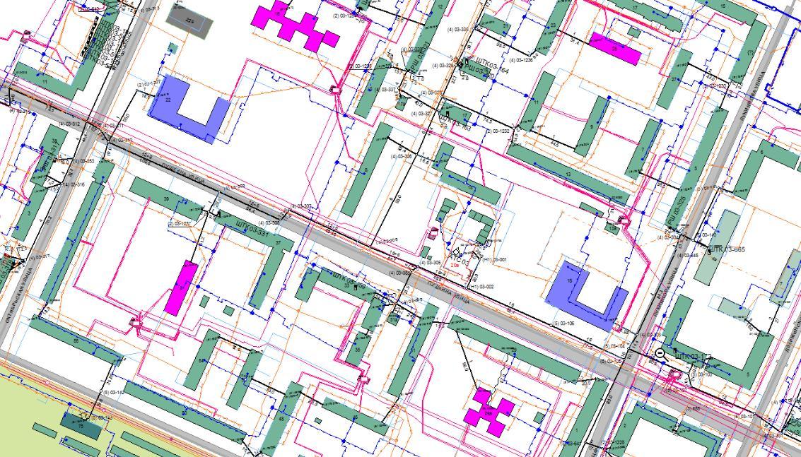 Поиск и нанесение подземных коммуникаций на карту